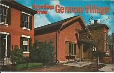 ag(E) Columbus, OH: Greetings from the German Village