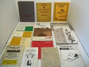 16 Manuals Caribou Snowmobile Wards Riverside Vintage Gravely Case IH Bolens L2
