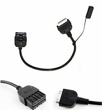 2007+ Nissan Infiniti 30 Pin AUX INPUT CABLE Adapter 284H2-1BA0B For iPod iPhone