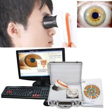 NEW 5.0 MP USB Iriscope Iris Analyzer Iridology LED Camera+ pro Iris PC software