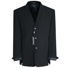 MASATOMO JAPAN $3,685 black embroidered back rynshu blazer suit jacket 3XL NEW