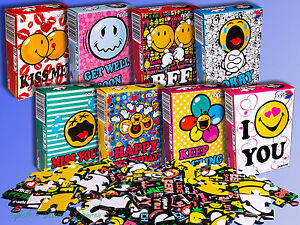 Noris Puzzle Smiley World 19x13cm Various Motive, B-Stock Defects Am Box