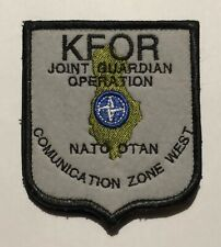 PATCH  KFOR JOINT GUARDIAN OPERATION