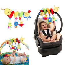 Crib Cot Pram Hanging Rattles Spiral Stroller Car Seat Pushchair Toy For Baby