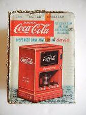 Vintage Marx Linemar  Coca Cola Dispenser Bank w/Original Box