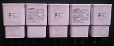 5x OEM Samsung Adaptive Rapid Fast Charger for Samsung Galaxy Note 4 5 S6 S7