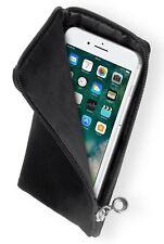 Soft Case black Tasche Hülle für Apple iPhone X Schutz Etui mit Reißverschluss