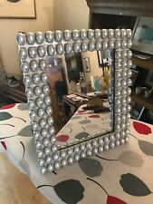 Framed Mirror - Wall Or Dressing. Silver Colour