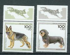 BRD Briefmarken 1995 Hunderassen Mi.Nr.1799+1800** Postfrisch mit Rand