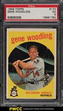 1959 Topps Gene Woodling #170 PSA 5 EX