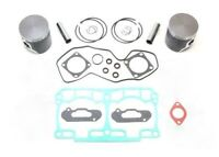 2010 Ski-Doo MXZ XRS 800R 800 SPI Dual Ring Pistons Bearings Top End Gasket Kit