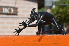1960s ! VINTAGE Russian Devil Demon Satan KASLI CAST IRON BIG figure statue old