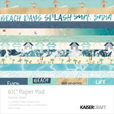 Summer Splash Collection 6. in Paper Pad Scrapbooking Kit Kaisercraft PP1031 New