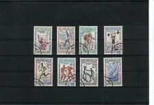 Morocco 1960 Olympic Games set of 8 values Used CTO scan 314