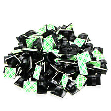 100 3M Multipurpose Self-adhesive Cable Clip Wire Holder For Home Office Car Pad