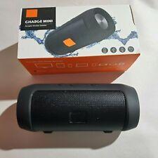 Charge Mini Portable Splashproof Black Generic Bluetooth Speaker Wireless