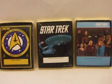 3 DIFFERENT (packs of 30) STAR TREK Self-Stick BOOKPLATES