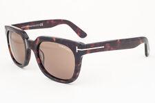 Tom Ford Campbell Dark Havana / Brown Sunglasses TF198 56J