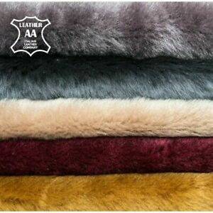 Colorful Italian Lambskin Shearling Hides // Choose Your Color // Double Sided S