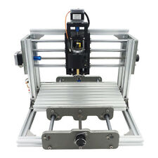 3 Axis Mini CNC Milling Machine Engraving DIY Router Kit + 500mw Laser Engraver
