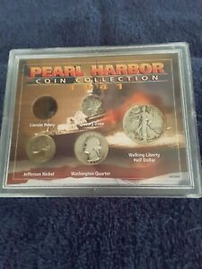 1941 Pearl Harbor Coin Collection