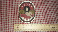 1940s NETHERLANDS BEER LABEL, KLAVER BREWERY AMERSFOORT HOLLAND, MILL STOUT