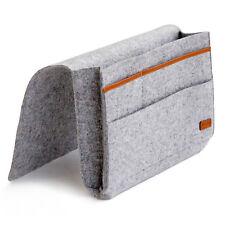 Kenley Bedside Storage Caddy Bed Tidy Pocket Organiser Bag for Book Laptop Phone