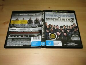 The Expendables 3 4K / Blu Ray [2 Disc Set]