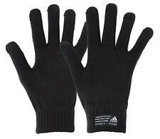 Adidas Performance Knit Gloves Fleece Black Run Sports Fashion GYM Glove FS9031