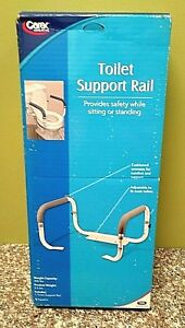 Carex Toilet Safety Frame Adjustable Support Rail # B36800