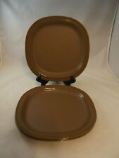 Tupperware Legacy Microwave Reheatable Dinner / Luncheon Plates 3398B - Set of 4