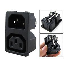 1 X AC 10A 250V IEC 320 C13 Male C14 Female Inlet Power Socket  high quality