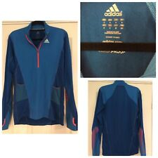 Adidas Golf Blue Clima Proof  Men Long Sleeves Leisure Lightweight size S (710