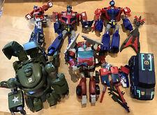 Transformers Action Figures Job Lot Bundle 6 Figures With Accessories