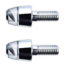 Set Of Motogadget LED M-Blaze Pin Indicator Turn Signal Polished 8mm MG6004012