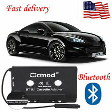 5.1Bluetooth Car Audio Tape Cassette Adapter Converter for Iphone Android Mp3 Cd