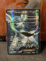 Glaceon EX 116/124 XY Fates Collide Full Art Ultra Rare Holo NM/M Pokemon Card