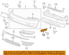 VW VOLKSWAGEN OEM 12-15 Passat Front Bumper-Guide Bracket Left 561807183A