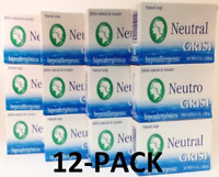 12 Pack Neutral Soap, Jabon Neutro, Grisi 3.5 Oz. X 12 Units