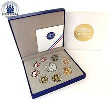 Polierte Platte Münzen aus Frankreich nach Euro-Einführung