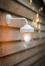NEW GARDEN TRADING BARN LIGHT OUTDOOR PATIO WEATHERPROOF WALL LIGHT - CHALK