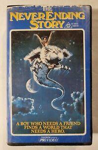 The NeverEnding Story VHS 1984 Fantasy Wolfgang Petersen Roadshow (Ex-Rental)