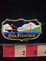 Vtg SAN FRANCISCO BAY Patch - California - Bridge Architecture 76V3
