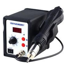 110V 700W Heater Gun Hot Air Gun Rework Station SMD Solder Soldering Digital