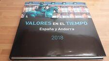 ANDORRA ESPAÑOLA:AÑO 2018 COMPLETO Y NUEVO, OFERTA CON LIBRO** DE CORREOS LUJO