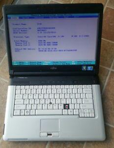 Fujitsu Lifebook S710 Core i5 2GB 2.53GHz Laptop NO HDD BIOS TESTED
