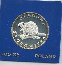Poland / Polen - 100zl Beaver