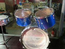 Premier Baron PD717, Vintage Drum-Set, Farbe blau, 1975