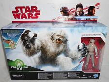 Brand New Hasbro Disney Star Wars Force Link 2.0 WAMPA & LUKE SKYWALKER (HOTH)