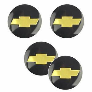 4X 2.56'' 65MM Fit Chevrolet Emblem Badge Sticker Wheel Hub Caps Centre Cover